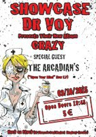 "Dr Voy ""Crazy"" Showcase 03/10/2015"